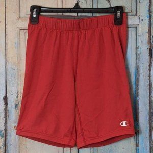 Champion Double Dry Youth Size Medium Shorts Red